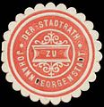 Siegelmarke Der Stadtrath zu Johanngeorgenstadt W0392601.jpg