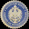 Siegelmarke K. Marine Kommando der Mittelmeerdivision W0357425.jpg