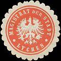 Siegelmarke Magistrat der Stadt Lychen W0361441.jpg