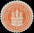 Siegelmarke Militair-Commission des Senats W0393118.jpg