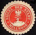 Siegelmarke Siegel der Stadt - Müllrose W0232555.jpg
