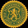 Siegelmarke Stadt Bad Blankenburg-Thüringen W0391294.jpg