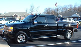 GMC Denali A pickup truck with the GMC nameplate