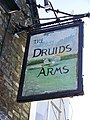 Sign for the Druids Arms - geograph.org.uk - 1670188.jpg