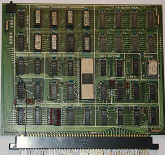 Signetics 2650 - PC1001 evaluation board