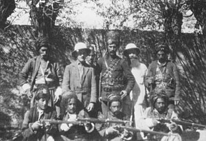 Simko Shikak revolt (1918–22) - Simko (center)