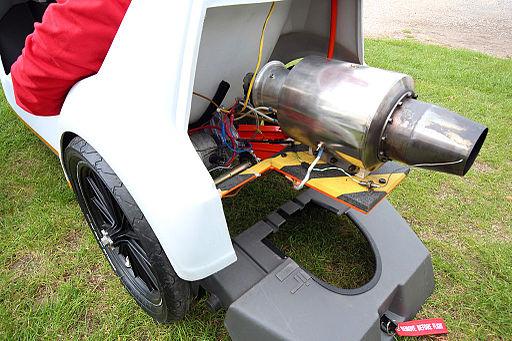 Sinclair C5 jet engine