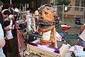 Singing creature on DECtalk, dorkbot-austin, SXSW 2007.jpg