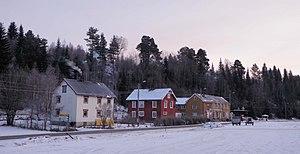 Singsås - View of the village from Singsås Station