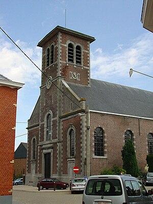 Herfelingen - Sint Niklaas church in Herfelingen