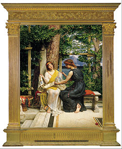 Sir Edward J. Poynter - Helena and Hermia - Google Art Project.jpg