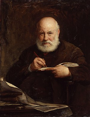George Scharf - Sir George Scharf, 1885, oil by Walter William Ouless