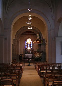 Sisterchurches at Gran, Nicolaychurch, Interior.jpg