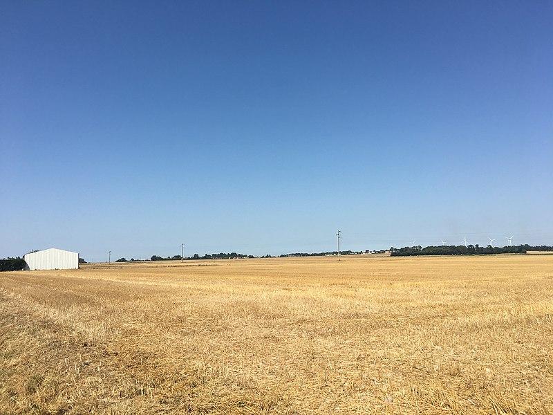 File:Site of tank commander Michael Wittmann's final Battle 1944.jpeg