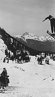 Ski jumper 1936