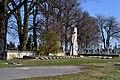 Skomorokhy Sokalskyi Lvivska-area of graves of soviet soldiers-general view.jpg