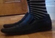 b636b3592b4 A pair of slip-on school shoes
