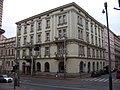 Smíchov, Plzeňská 29, Tomáškova 6, hotel Praga 1885, z Kmochovy.jpg