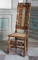 Snidad och svarvad stol av valnöt - Skoklosters slott - 103755.tif