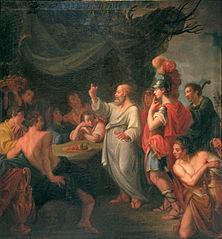 Socrates teaching Perikles-Nicolas Guibal