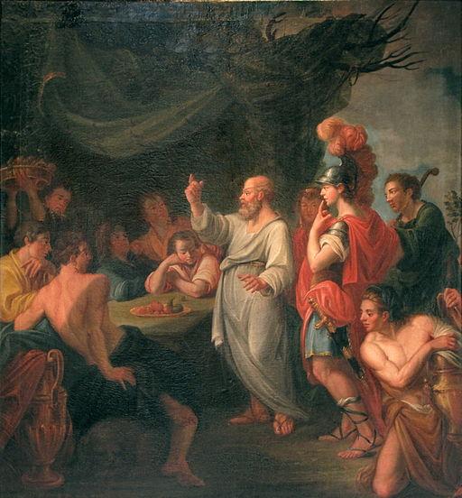 Socrates teaching Perikles-Nicolas Guibal-IMG 5309