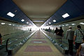 Sofia Metro Station University Exit to Orlov most Moving sidewalk 2012 PD.jpg