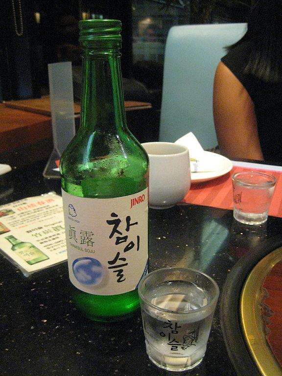 Korean Alcohol Drink Mkeoulli