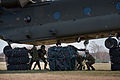 Soldiers Unhooking Cargo from Chinook Helicopter MOD 45155096.jpg