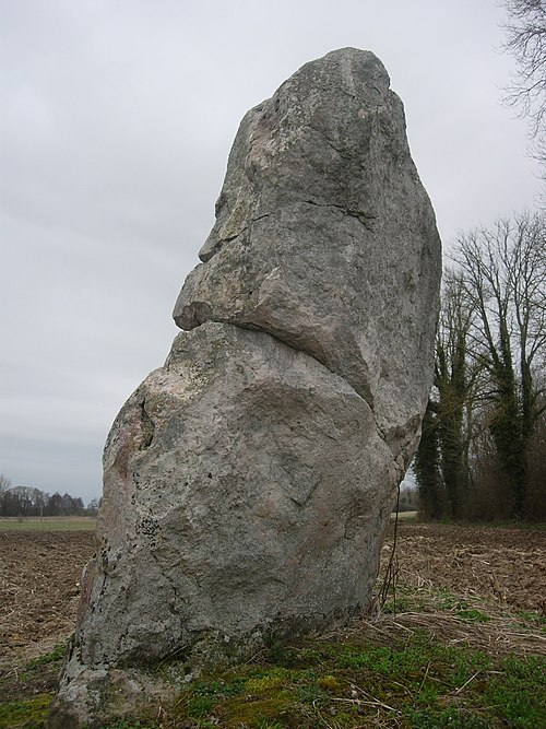 Photo - Menhir dit