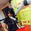 Sonia Jain at Radio Mirchi Studio, Delhi.jpg