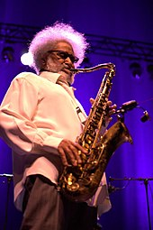 Sonny Rollins in a 2011 performance.