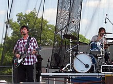 Son Volt playing at Wakarusa in 2005