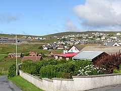 Sound, Lerwick, looking towards the Sound Brae (geograph 1793839).jpg