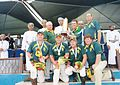 South African team with World cup trophy 2014.jpg