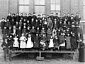 South School students and teachers, 1889 (SEATTLE 1570).jpg