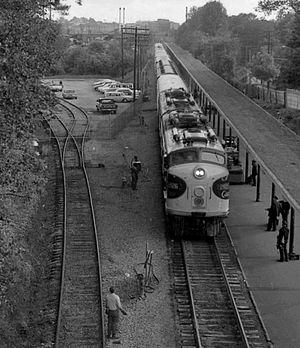 Peachtree station - Peachtree Station in Atlanta, Georgia, c. 1974