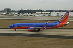 Southwest N8651A B738 ATL Jan2018 (27211185648).jpg