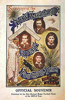 1907–08 New Zealand rugby tour of Australia and Great Britain