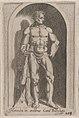 Speculum Romanae Magnificentiae- Hercules (Hercules in aedibus Card. Burghesij) MET DP870323.jpg