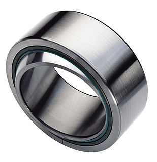 Spherical bearing A bearing that allow limited angular rotation orthogonal to the shaft axis