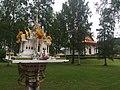 Spirit house at King Chulalongkorn Memorial, Sweden.jpg