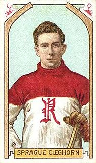 Sprague Cleghorn Canadian ice hockey player