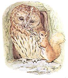 Squirrel Nutkin Mr Brown