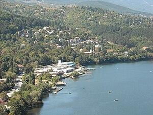 Lake Pancharevo - Sredets National Rowing base on the shore of Lake Pancharevo, Sofia