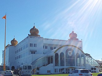 Sikhism in Australia - Image: Sri Guru Singh Sabha Parklea