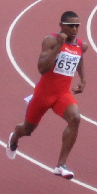 Stéphan Buckland - Buckland at the 2005 World Championships