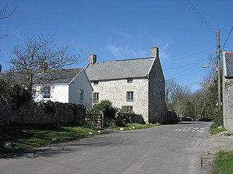 St Donats - Image: St.Donat's Village, Vale of Glamorgan