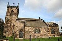 St.John the Baptist's church, Hooton Roberts - geograph.org.uk - 265569.jpg
