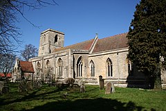 St.Peter and St.Paul's church, Osbournby, Lincs. - geograph.org.uk - 147406.jpg