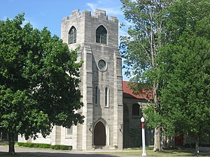 National Register of Historic Places listings in LaGrange County, Indiana - Image: St. James Memorial Chapel at Howe